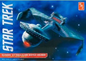 AMT USA 1/537 Scale Star Trek Klingon K'Tinga-Class Battel Cruiser Plastic Model Kit