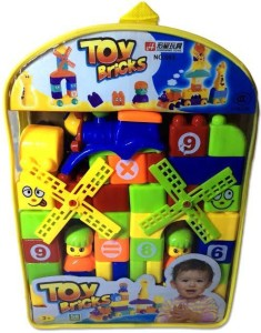 Shop Street Toy Brick Set