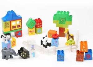 8f15750ed71 Building Mart Numerical Learning Building Block Set 42 Pieces ...