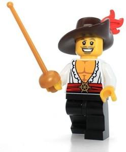 Lego Series 12 Collectible Mini 71007 Swashbuckler