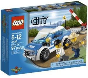 Lego City Police Patrol Car 4436