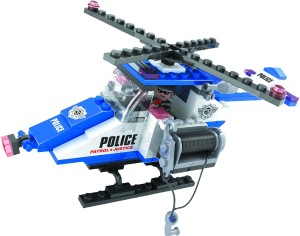 Funblox Police Helicopter