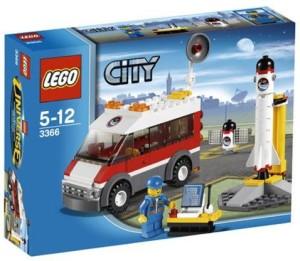 Lego City Satellite Launch Pad 3366