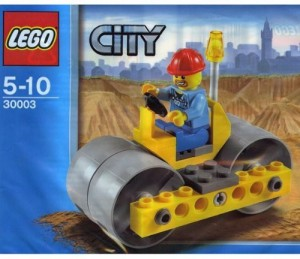 Lego City Steam Roller 30003 (Bagged)