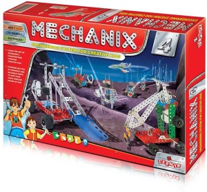 Wish Kart Mechanix Metal Extra Fun and Creativity Loaded for Boys and Girls (263 Pieces)