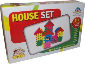 Parteet t Blocks House Set for Kids
