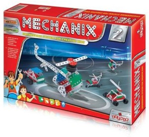 Wish Kart Mechanix Metal Extra Fun and Creativity Loaded for Boys and Girls (102 Pieces)