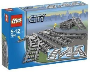 Lego (R) City Trains Switch Tracks (7895)