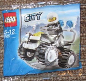 Lego City Police 4X4 (Bagged)