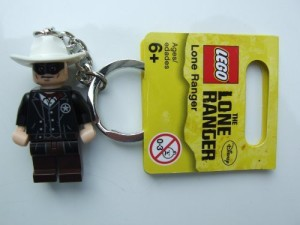 Lego Lone Ranger Lone Ranger Keychain