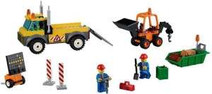Lego Road Work Truck