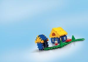 OK Play Build a Home Construction Set - Activity Game