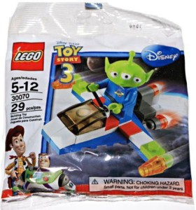 Lego 30070 Disney Pixar Story 3 Alien And Space Ship