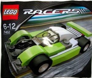 Lego Racers Le Mans Sports Car (Green) Set 7452 (Bagged)
