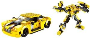 Shrih 2 in 1 Transformer Block Set