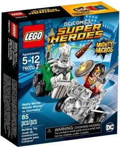 Lego Mighty Micros: Wonder Woman vs Doomsday