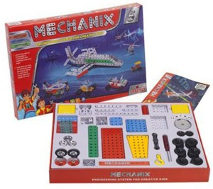 Wish Kart Mechanix Metal Extra Fun and Creativity Loaded for Boys and Girls (301 Pieces)