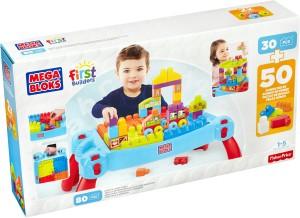 Mega Bloks Play N Go Table - 30+50 (80) Pieces