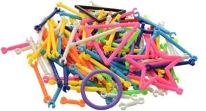 Kuhu Creations Plastic Smart Stick Intelligence Educational Building Blocks Kids Toys
