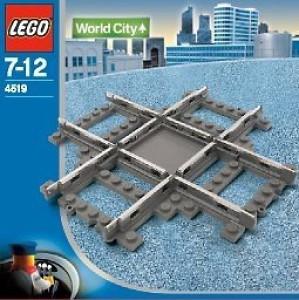 Lego 9V Train Rail Crossing