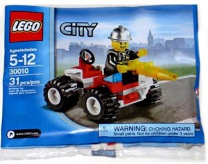 Lego City Exclusive Mini Set 30010 Fire Chief Bagged