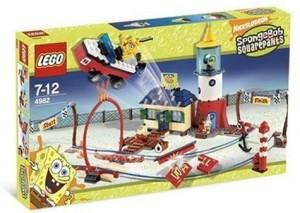 Lego Spongebob Squarepants Mrs Puff'S Boating School 4982