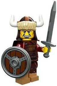 Lego Minis Series 12 Hun Warrior Mini [Loose]