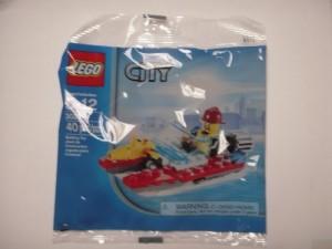 Lego City Set 30220 Fire Boat (Polybag)
