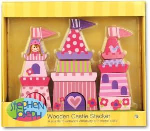 Stephen Joseph Princess Wooden Stacking Set