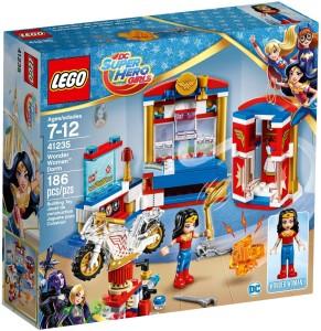 Lego Wonder Woman Dorm Room