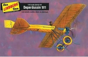 Lindberg USA 1/48 Scale 1911 Deperdussin Plastic Model Kit