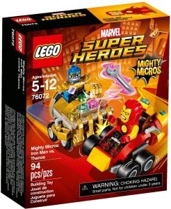 Lego Mighty Micros: Iron Man vs Thanos