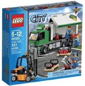 Lego City 60020 Cargo Truck Building Set