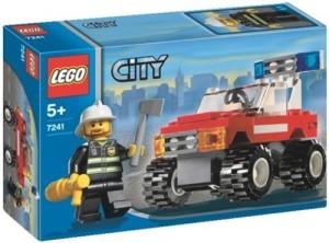 Lego City Fire Chief Car 7241