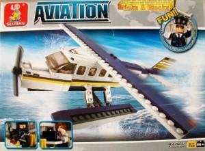 AVIATION Sluban Seaplane Small Plane Aircraft Airport Pilot Building