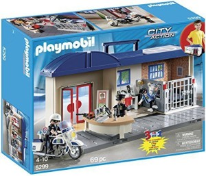 Playmobil Police Take Along Station
