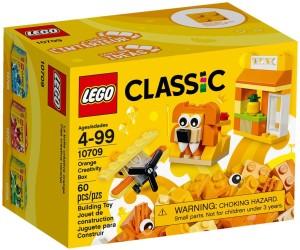 Lego Orange Creativity Box