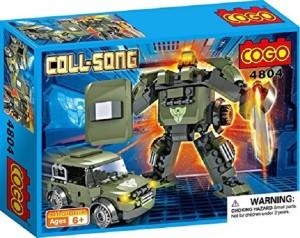 Saffire Coll Song Transformer Blocks - Mech Warrior and Jeep