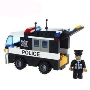 Saffire Police Car Vehicle - 103 pcs