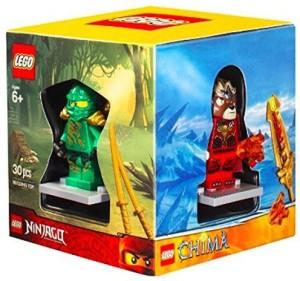 Lego 4 Minis Boxed Gift Set Chimasuperheroesninjago And City