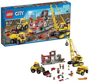 Lego City Building Demolition Site
