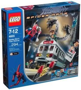 Unknown Lego Spiderman 2 Spiderman'S Train Rescue