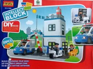 Jaibros jixin Police Station 53 Pcs. Block Construction Set