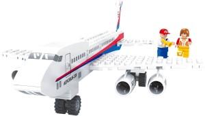 Fun Blox City Aeroplane With Passenger