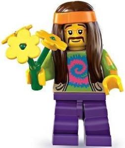 Lego Series 7 Hippie Mini
