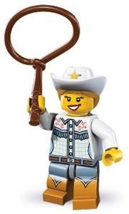Lego Series 8 Cowgirl Mini