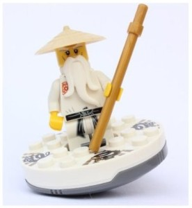 lego ninjago sensei wu outfit with spinner white best price in india