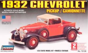 Lindberg USA 1/32 Scale 1932 Chevrolet Pickup Plastic Model Kit