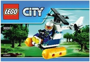 Lego City Swamp Police Helicopter Mini Set 30311 [Bagged]