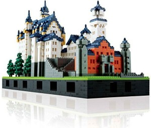 Kawada Nano Neuschwanstein Castle Deluxe Edition Set